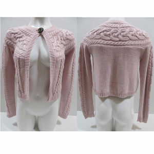 GAP Girl sweater XL 12 knit one button cardigan